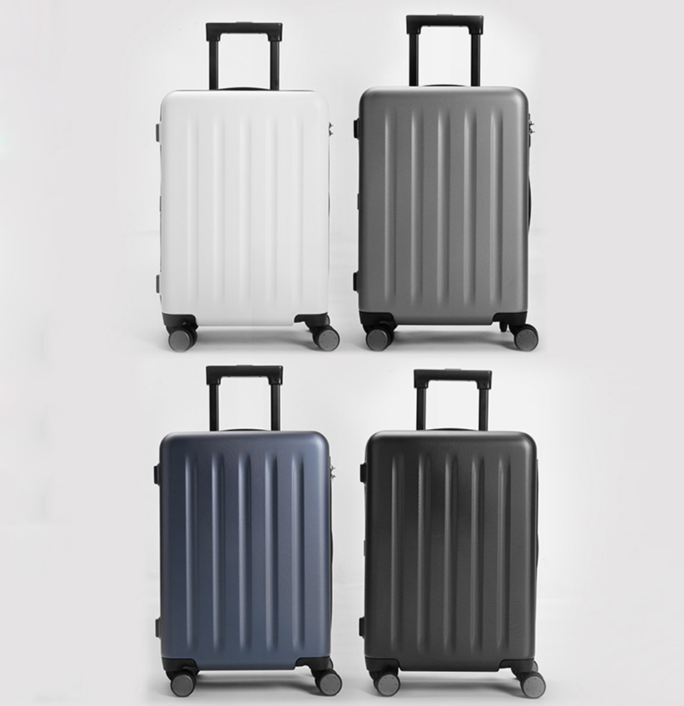 "Валіза RunMi 90 Points suitcase Maсaron Green 20 ""в 4-х кольорах"