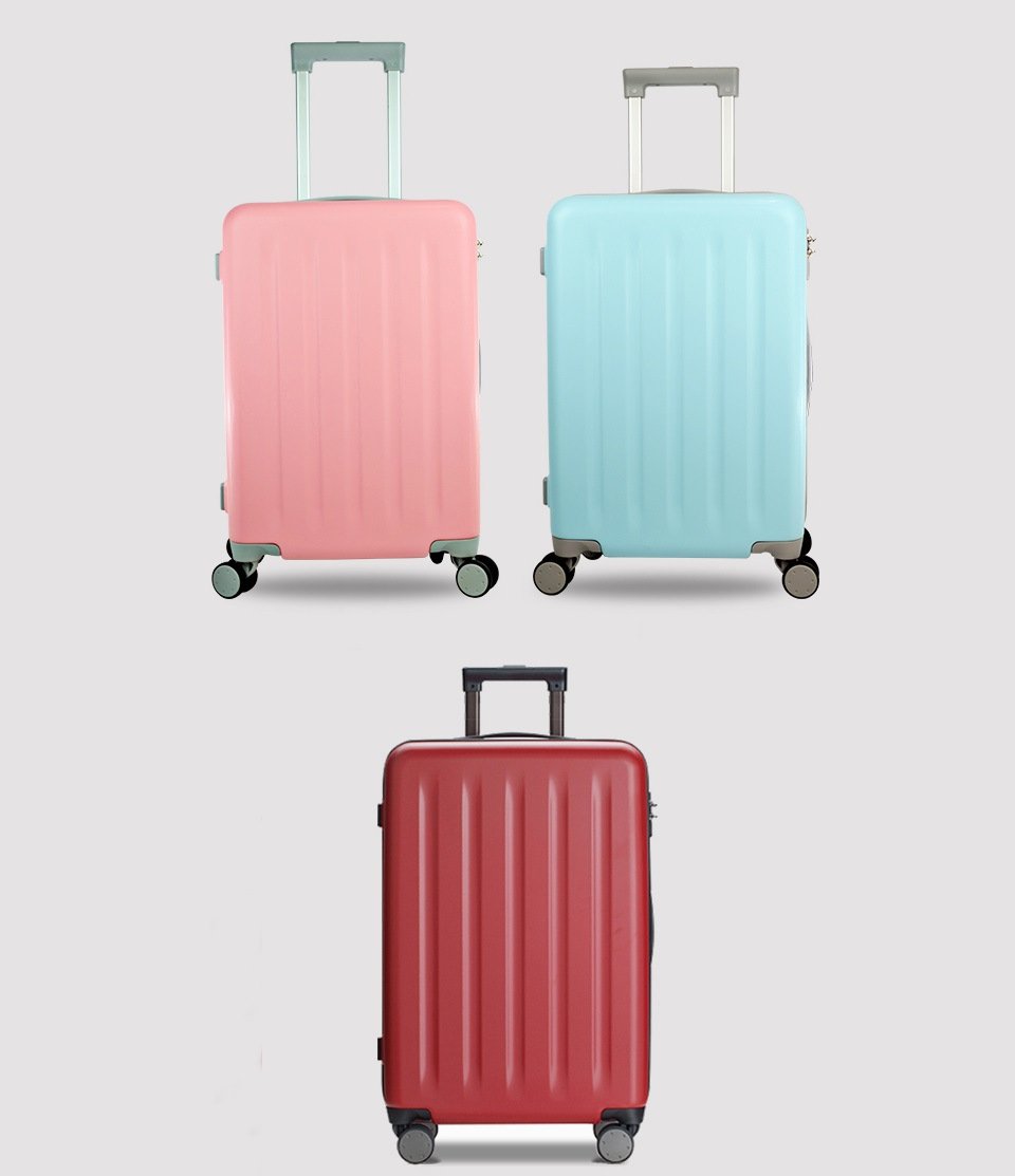 "Валіза RunMi 90 Points suitcase Maсaron Green 20"" в 3-х кольорах"