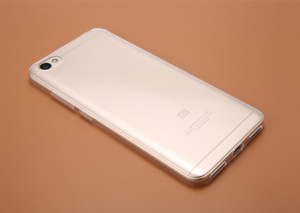 Чохол бампер TPU Case Xiaomi RedMi Note 5A Clear ORIGINAL 1173100060 прозорий