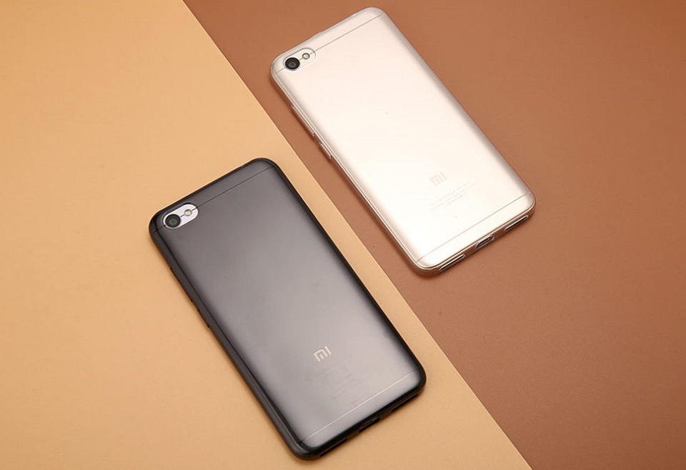 Чохол бампер TPU Case Xiaomi RedMi Note 5A Clear ORIGINAL 1173100060 в двох кольорах