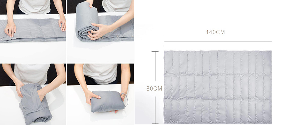 Ковдра Tonight Multi-Functional Portable Air-Conditioned Blanket 140x80 фасони
