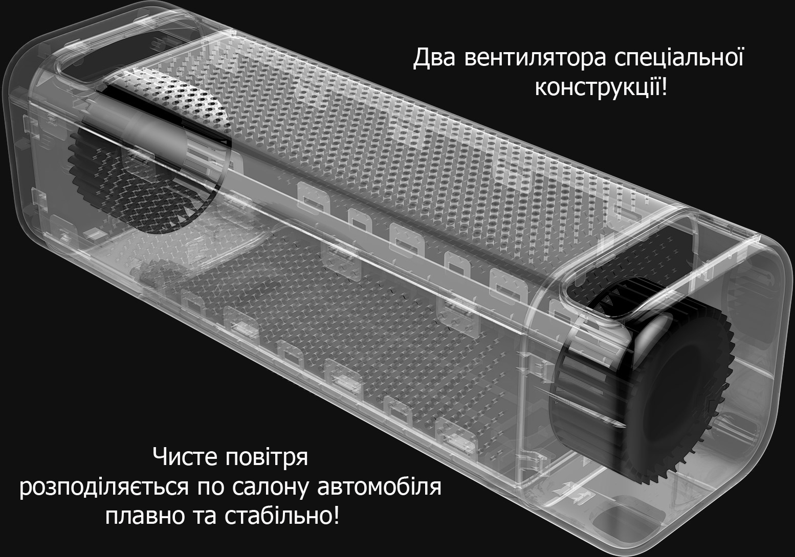 Mi Car Air Purifier Black вентилятор