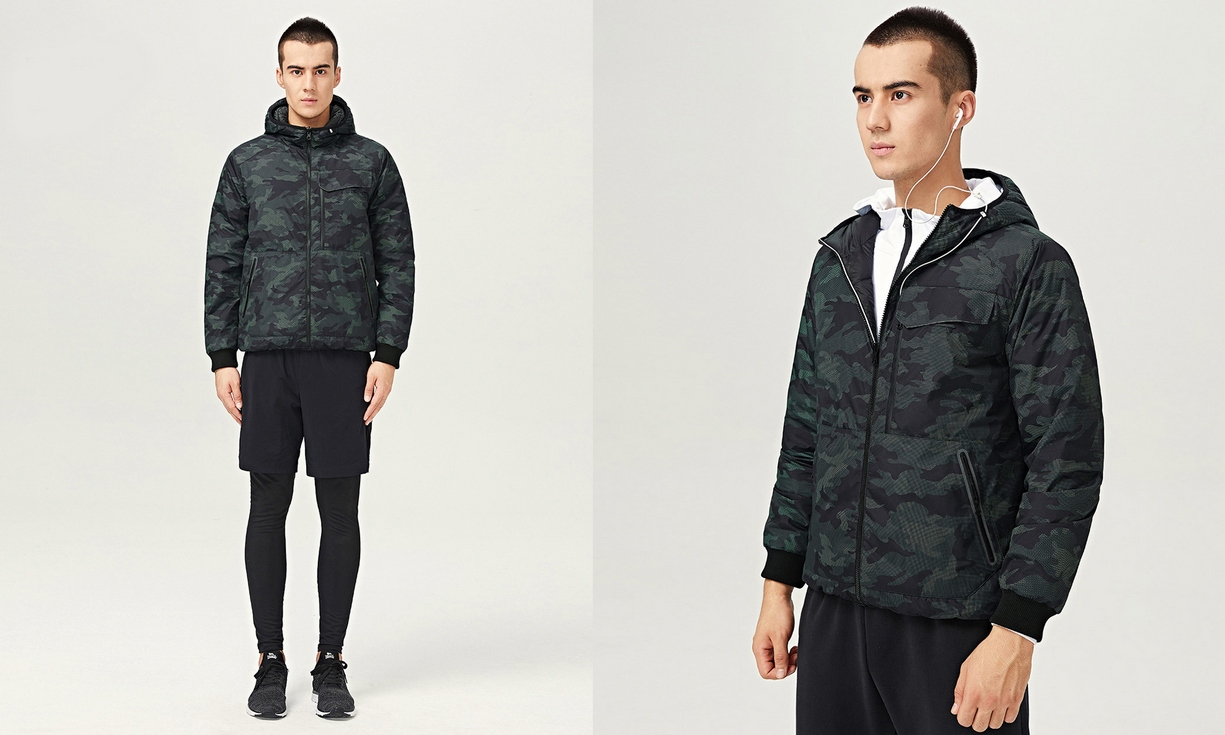 Uleemark-double-sided-wear-men's-down jacket