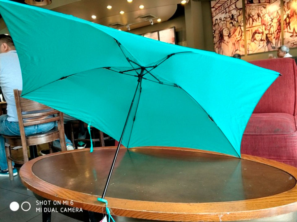 Umbracella Carbon Fiber Ultra Light Umbrella п'ятикутник