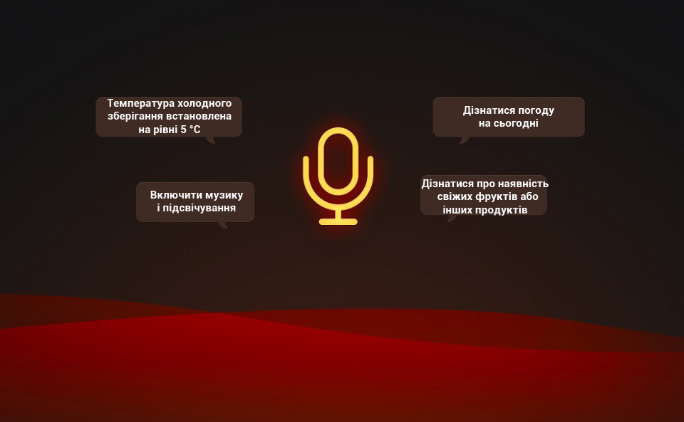 Viomi Smart Refrigerator iLive Voice Edition голосове управління