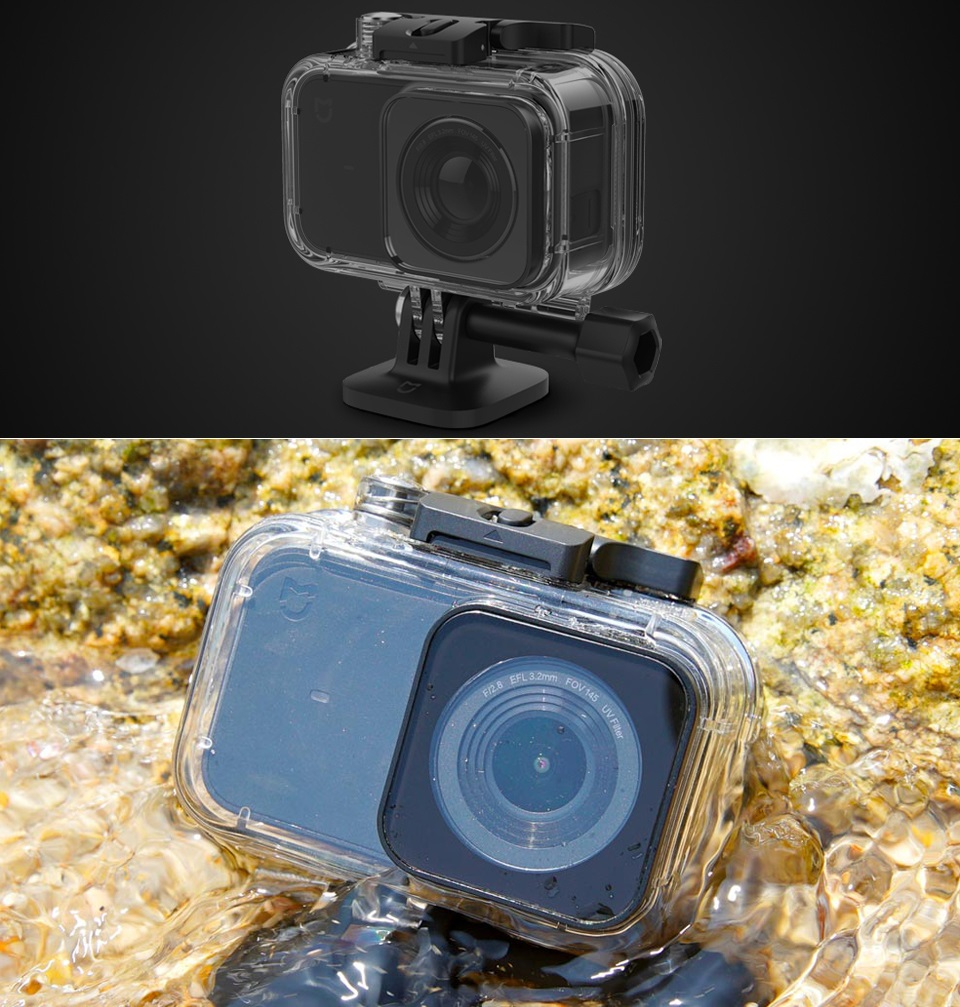 Waterproof box MiJia 4K Small Camera ORIGINAL водостійкість