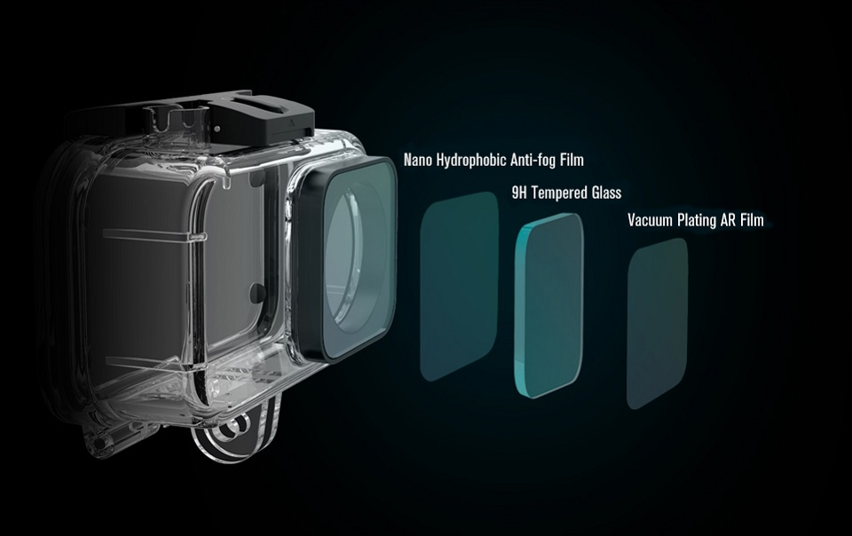 Waterproof box MiJia 4K Small Camera ORIGINAL надійний захист лінз