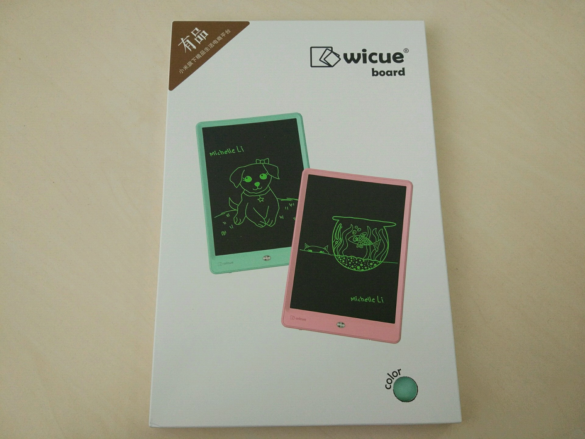 Wicue Writing Tablet  упаковка