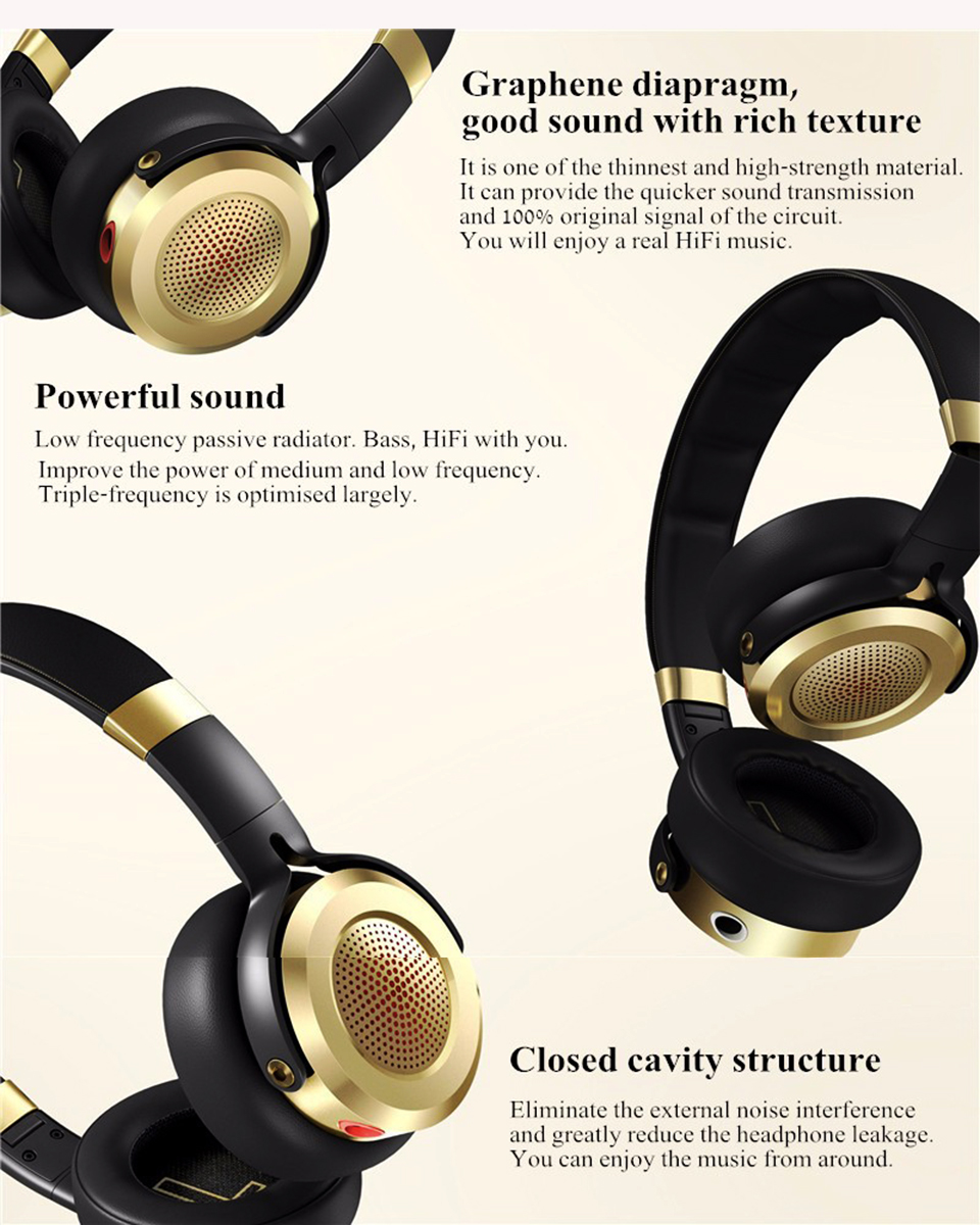 Навушники Xiaomi Mi Headphones New Black/Gold ZBW4370TY демпферна система