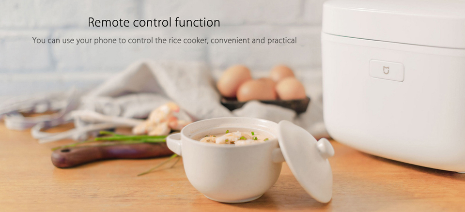 Умная мультиварка Xiaomi MiJia Induction Heating rice cooker 2 управление со смартфона