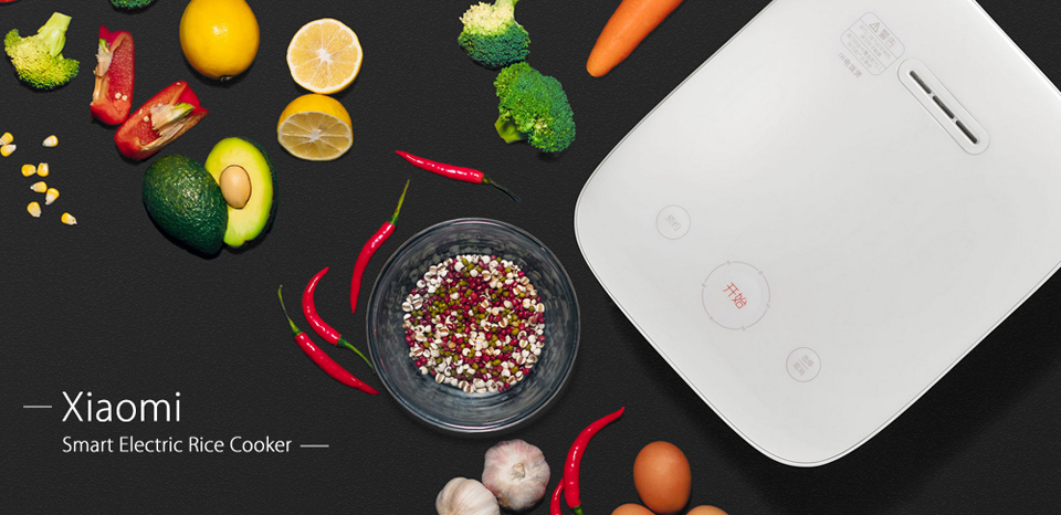 Умная мультиварка Xiaomi MiJia Induction Heating rice cooker 2