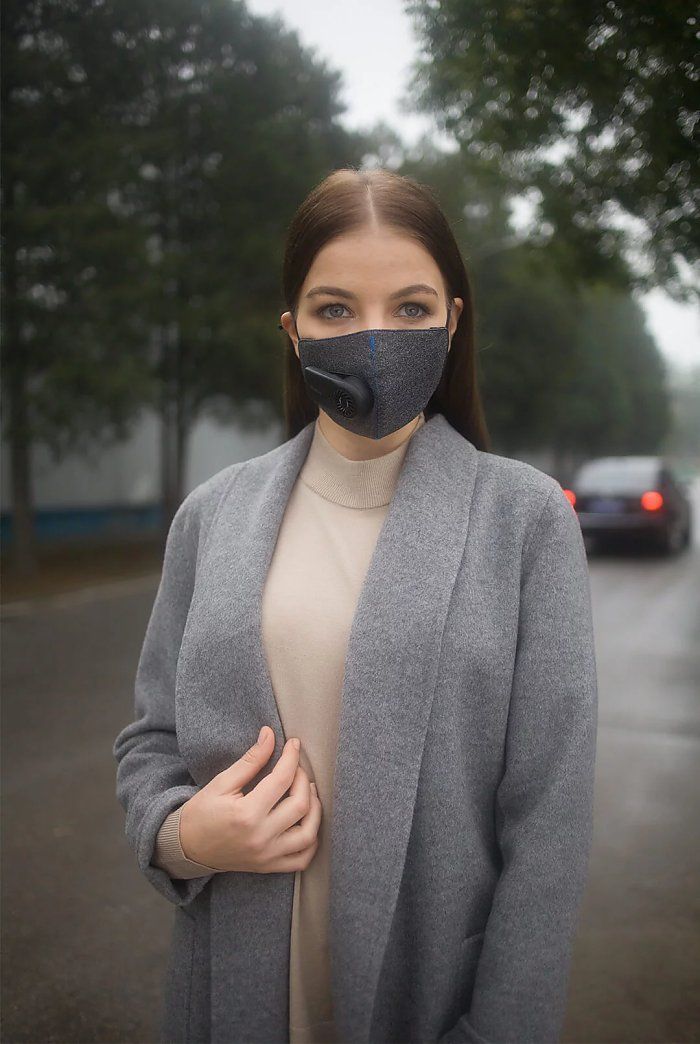 Xiaomi Purely Fresh Air Mask девушка