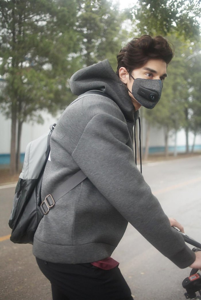 Xiaomi Purely Fresh Air Mask велосепидист