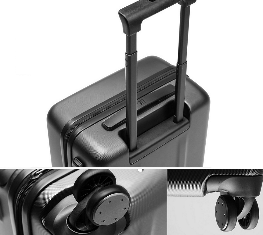 Валіза Xiaomi 90 Points Suitcase Dark Grey Magic Night 28`` особливості