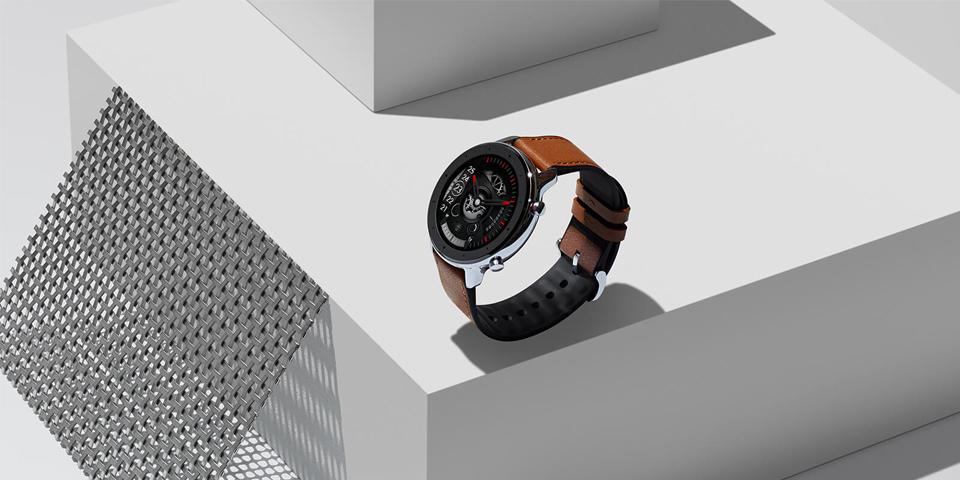 Розумні годинник Xiaomi Amazfit GTR 47mm Stainless steel вид збоку