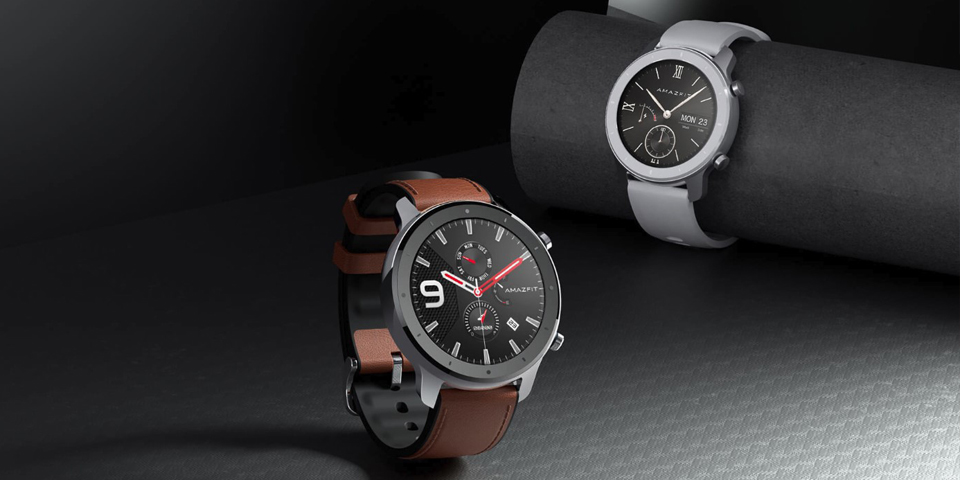 Розумний годинник Xiaomi Amazfit GTR 47mm Stainless steel крупним планом