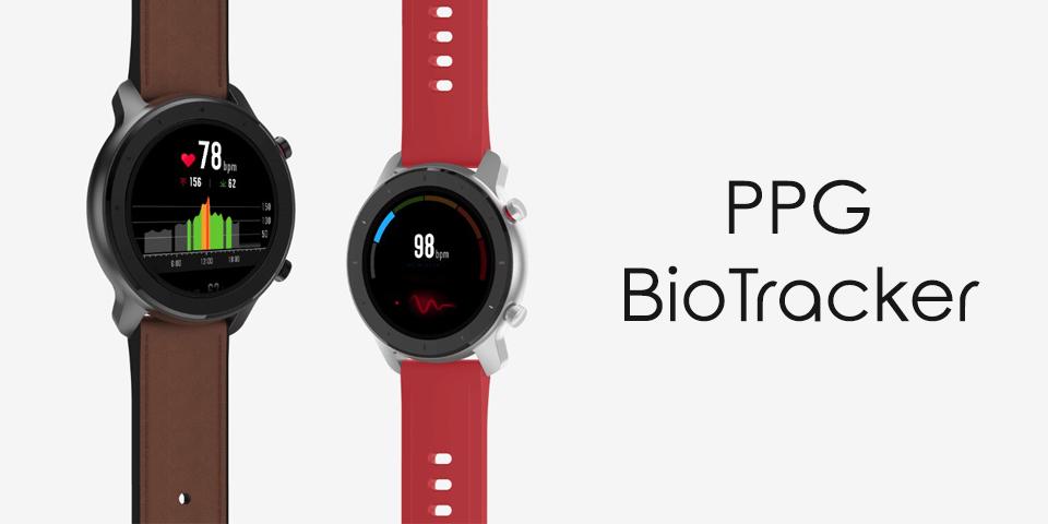 Розумний годинник Xiaomi Amazfit GTR 47mm Stainless steel серцевий ритм