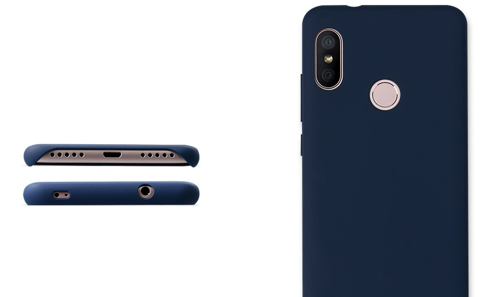 Чохол бампер Case Cover for Redmi 6 Pro тонкий