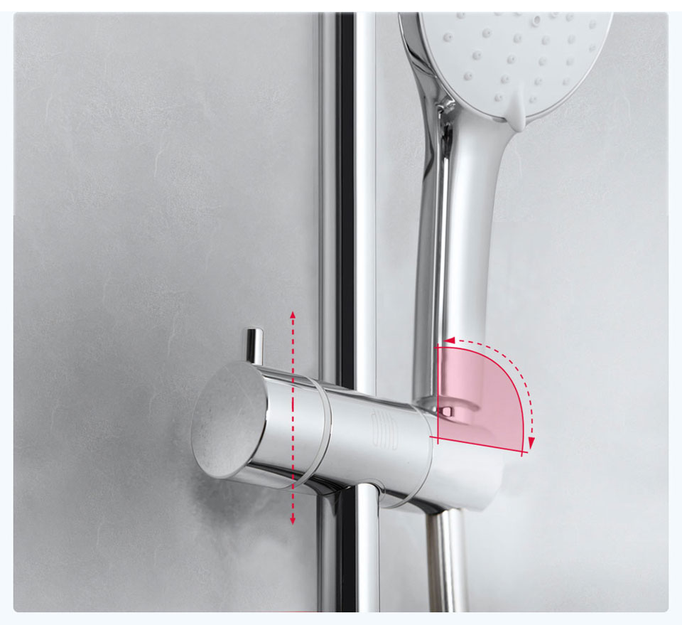 DiiiB (Safety Thermostatic Shower Set) цікавий душ