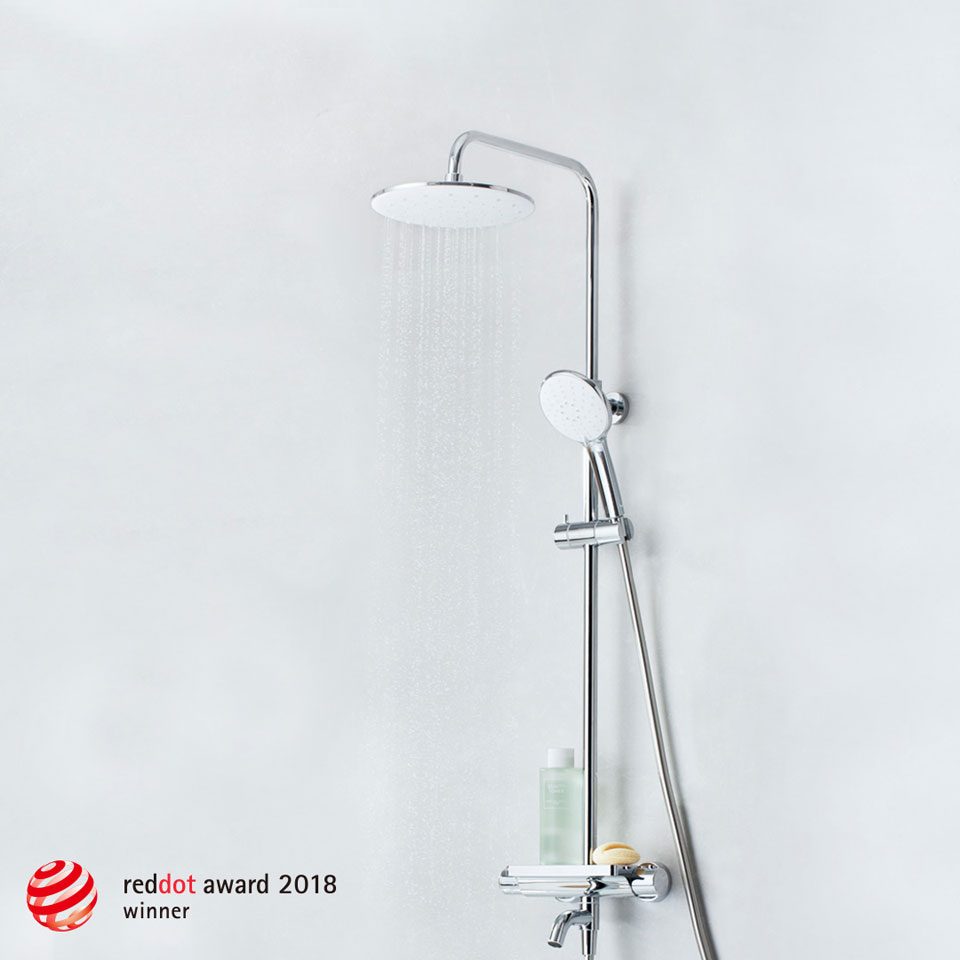DiiiB (Safety Thermostatic Shower Set) відзначено премією