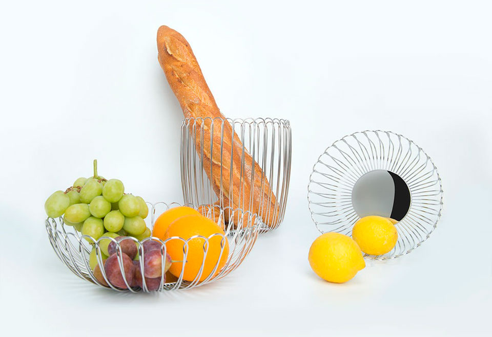 Maison Maxx Stainless Steel Woven Fruit фруктовниці