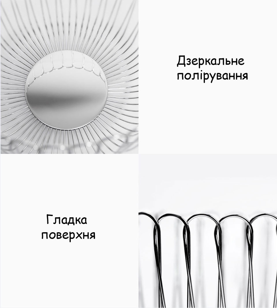 Maison Maxx Stainless Steel Woven Fruit конструкція