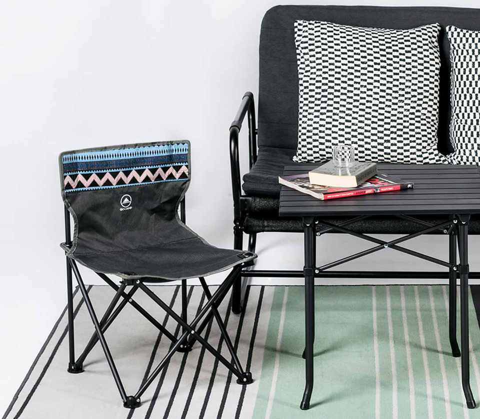Набір Xiaomi GOCAMP OBS1005 folding picnic table and chair three-piece елементи комплекту