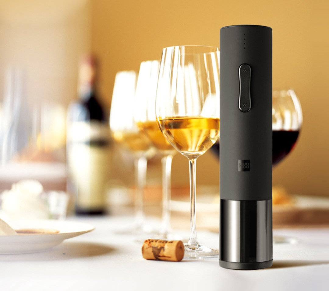 Huo Hou Electric Wine Bottle Opener електричний штопор