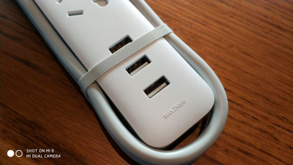 КingMi Power Strip with Wi-Fi 3 порти USB
