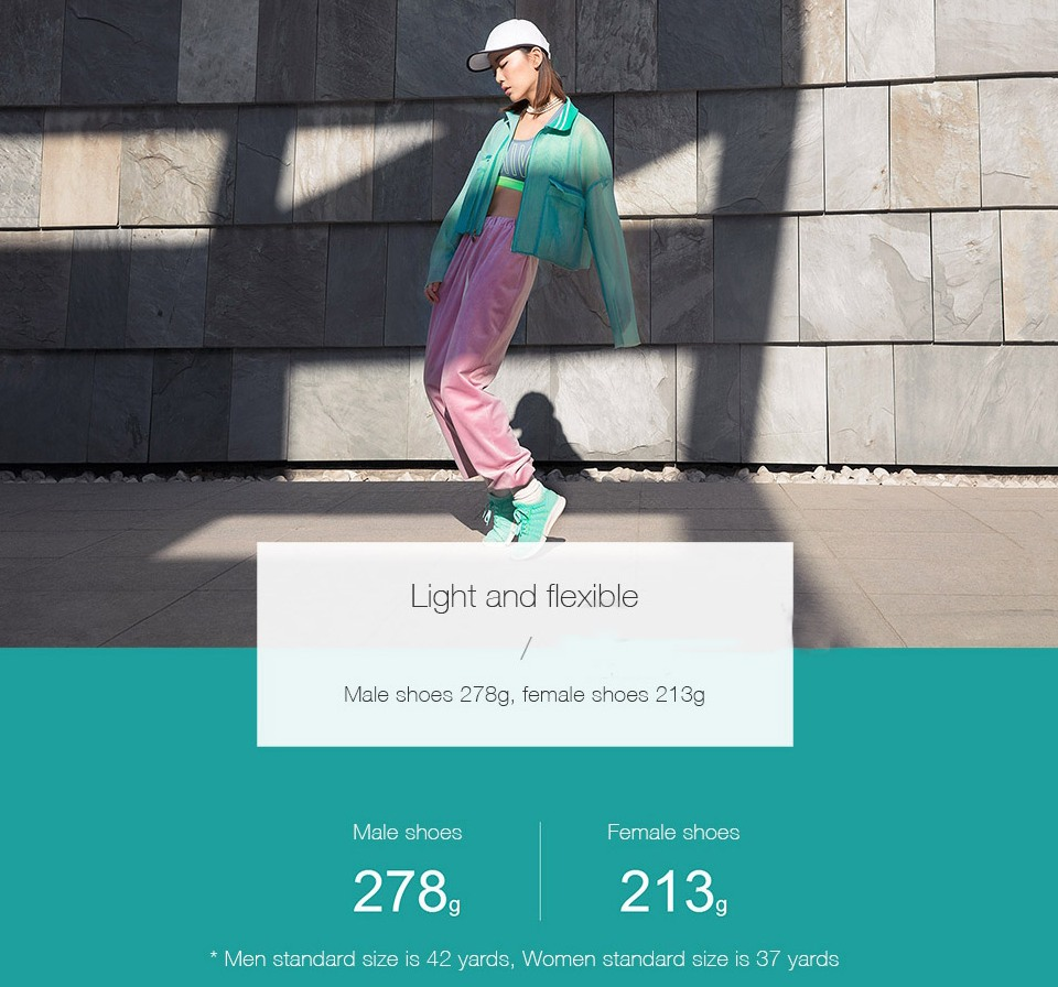 mijia smart shoes light flexible