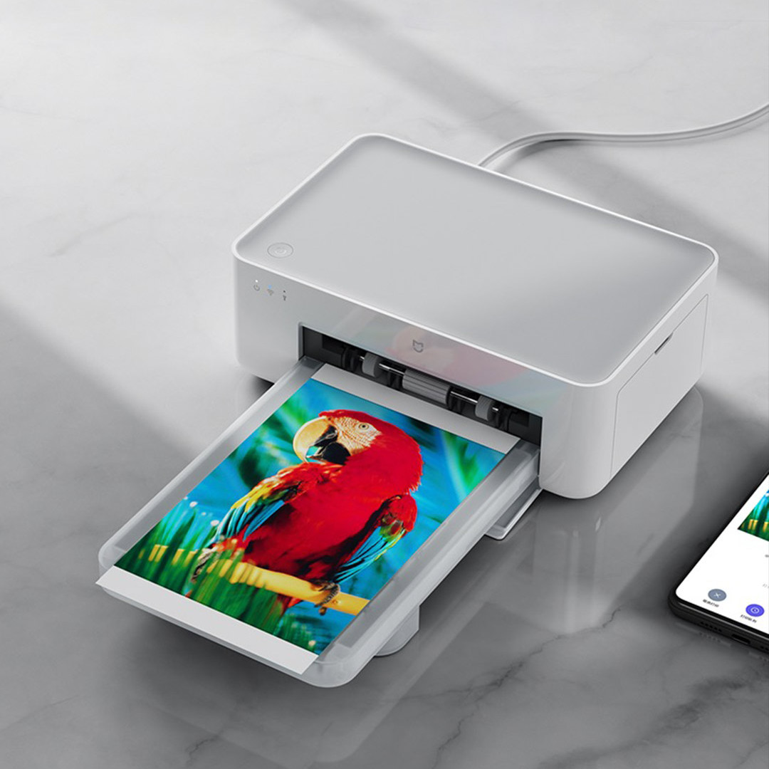 Принтер MiJia Photo Printer White ZPDYJ01HT крупним планом