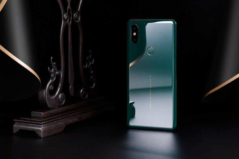Mi Mix 2S Jade Art Edition Emerald Green новий колір