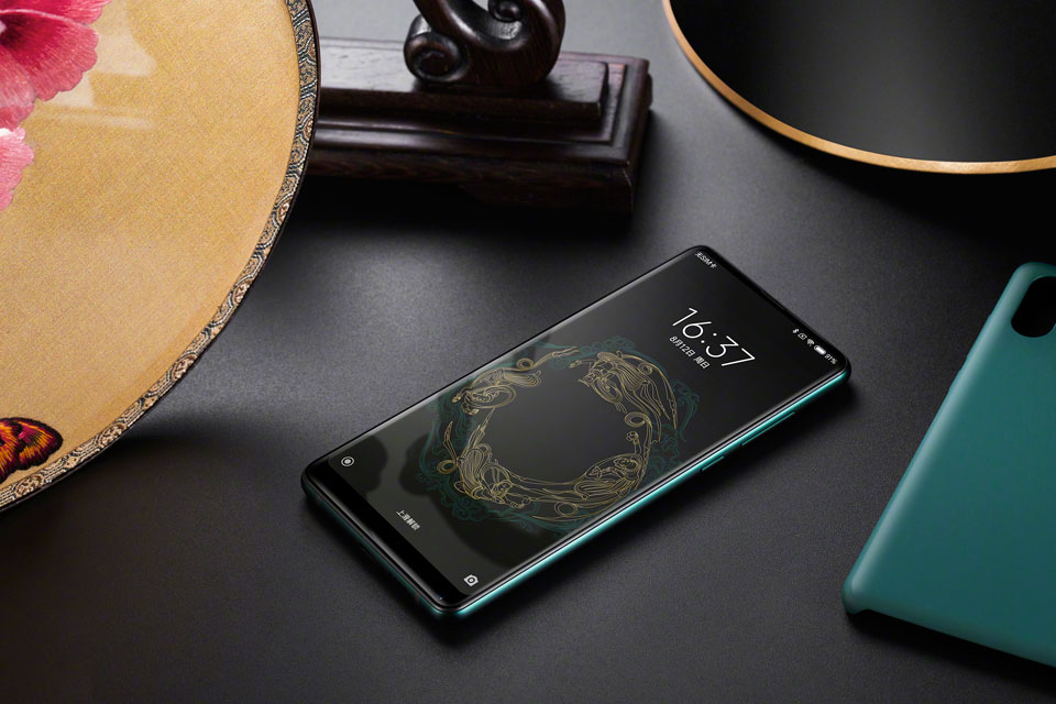 Mi Mix 2S Jade Art Edition Emerald Green топовий флагман