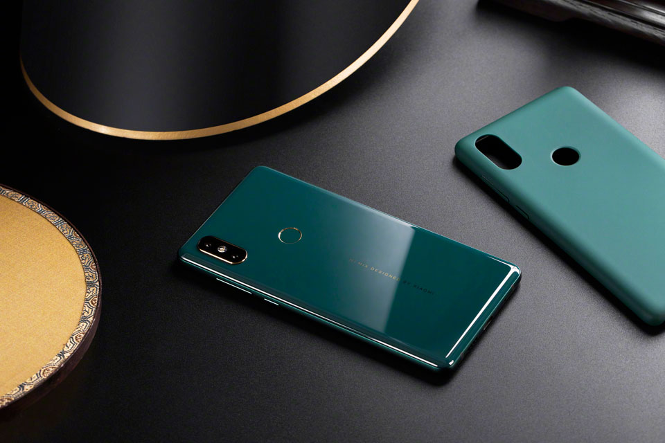 Mi Mix 2S Jade Art Edition Emerald Green керамічна кришка