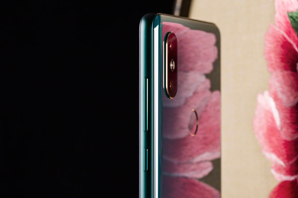 Mi Mix 2S Jade Art Edition Emerald Green дзеркальна поверхня