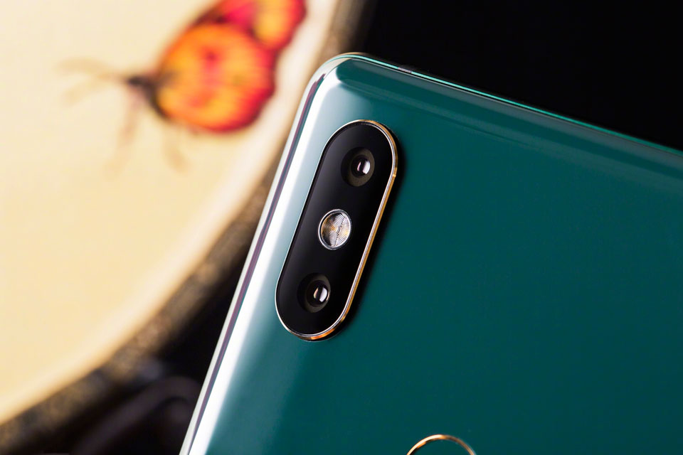 Mi Mix 2S Jade Art Edition Emerald Green подвійна камера