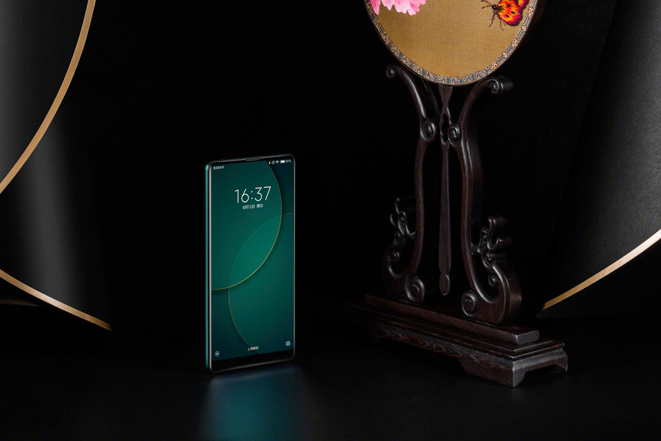 Mi Mix 2S Jade Art Edition Emerald Green потужний смартфон