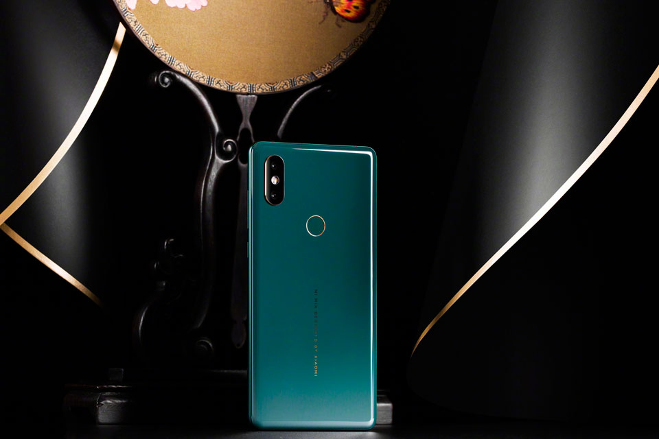 Mi Mix 2S Jade Art Edition Emerald Green нефритовий колір