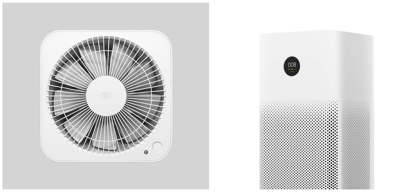 SmartMi Air Purifier 2S  конструкція