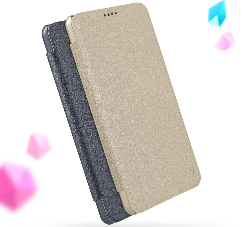 Чехол книжка Nillkin Sparkle Leather Mi8 Lite в двух цветах