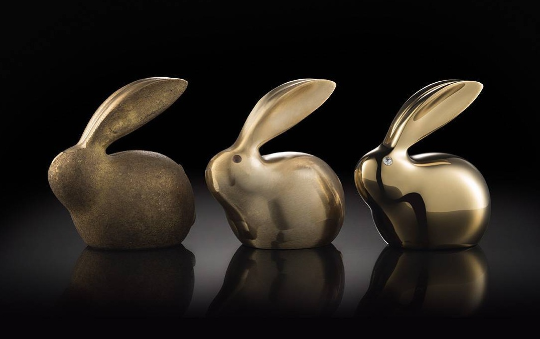 TONGSHIFU Crystal Copper Bunny Gold  технологія обробки