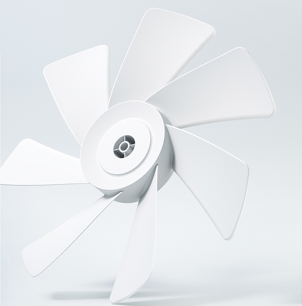 Вентилятор підлоговий SmartMi ZhiMi DC Electric Fan White ZRFFS01ZM лопаті