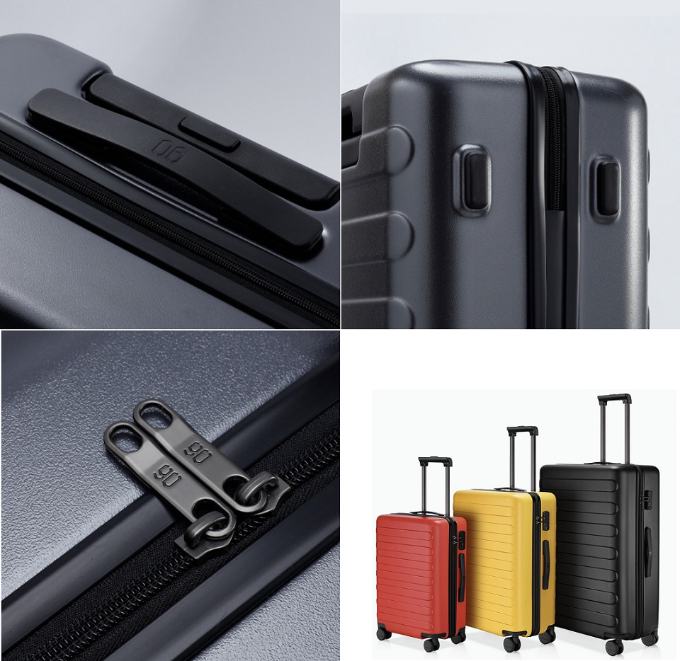 Валіза RunMi 90 Seven-bar luggage елементи конструкції
