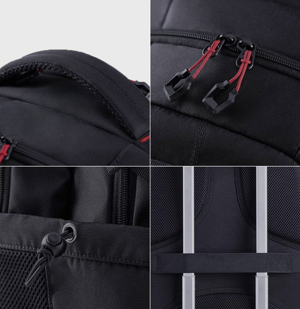 Рюкзак U'REVO large capacity multi-function backpack елементи дизайну