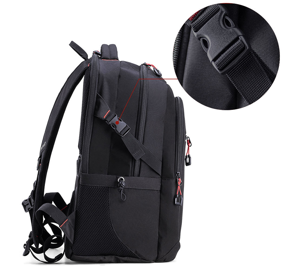 Рюкзак U'REVO large capacity multi-function backpack ремінець