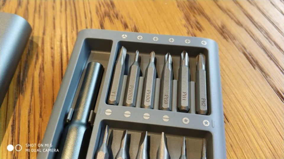 MiJia Wiha Screwdriver Set 24 насадки