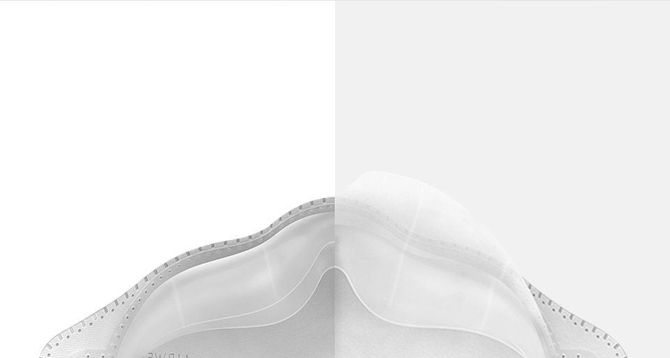 Xiaomi MiJia AirWear Anti-Fog Haze Mask ергономічність