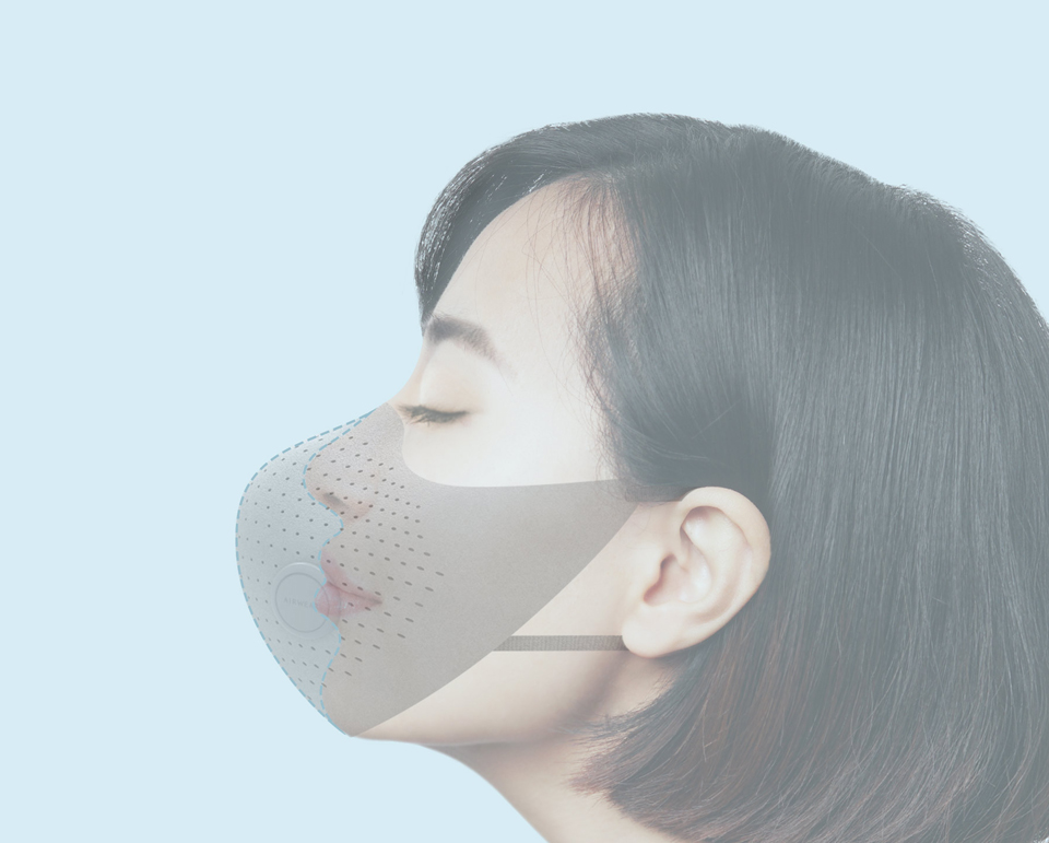 Xiaomi MiJia AirWear Anti-Fog Haze Mask фільтруючий шар