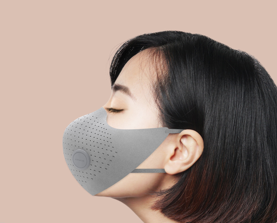 Xiaomi MiJia AirWear Anti-Fog Haze Mask фільтрація