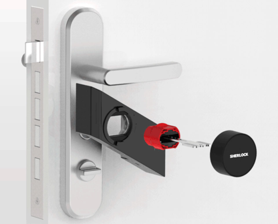 xiaomi-Sherlock-Smart-sticky-lock-Black